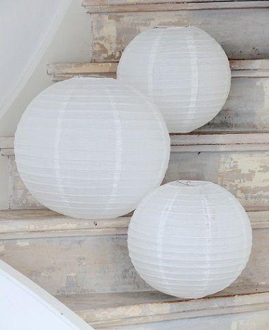 Paper Lantern Whites