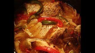 recette bouillon de poisson -(TILAPIA)
