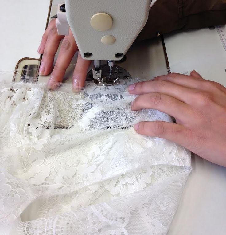 delicate lace in the works