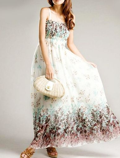 Beautiful Summer Maxi Dress from VICTORS CROWN Online Store