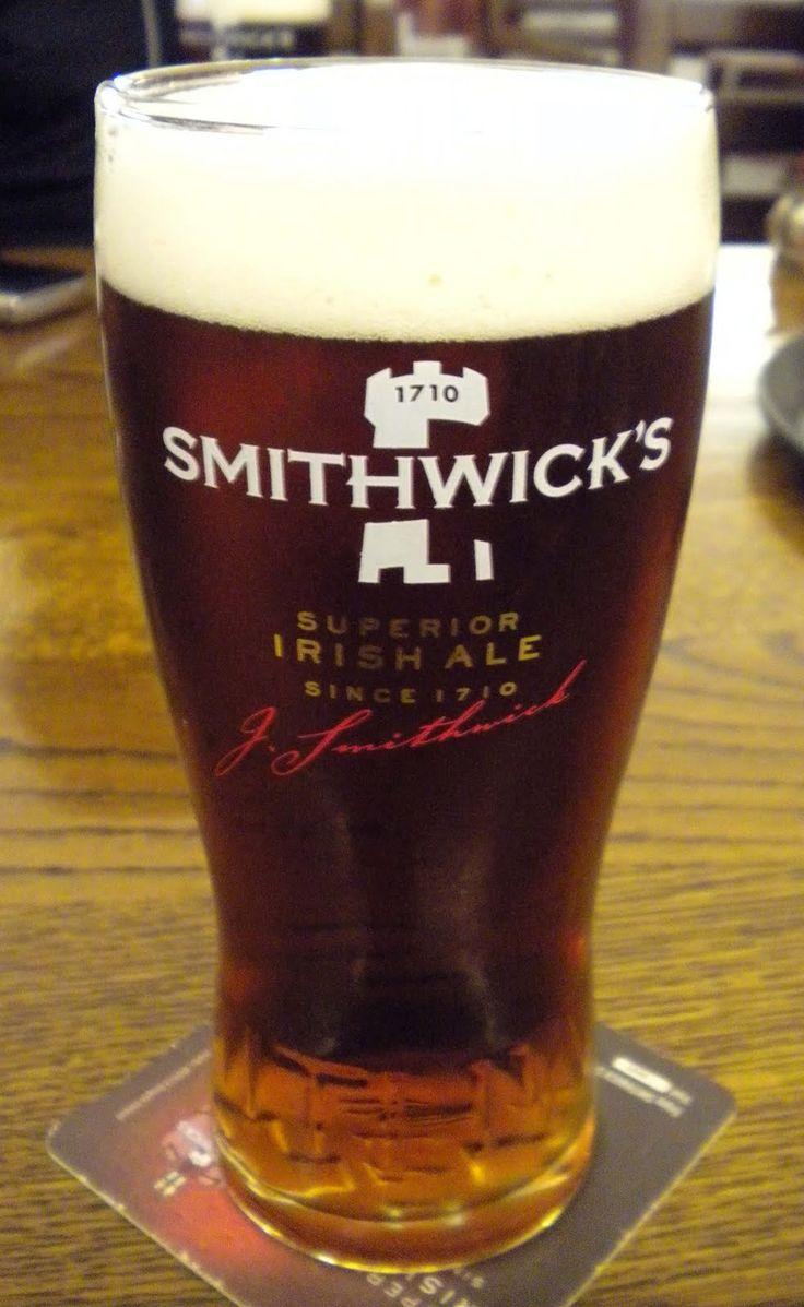 ڿڰۣ✿  Smithwick's Ale is an Irish Red Ale style beer brewed since 1710. Smithwick's Brewery,  Kilkenny, Ireland.