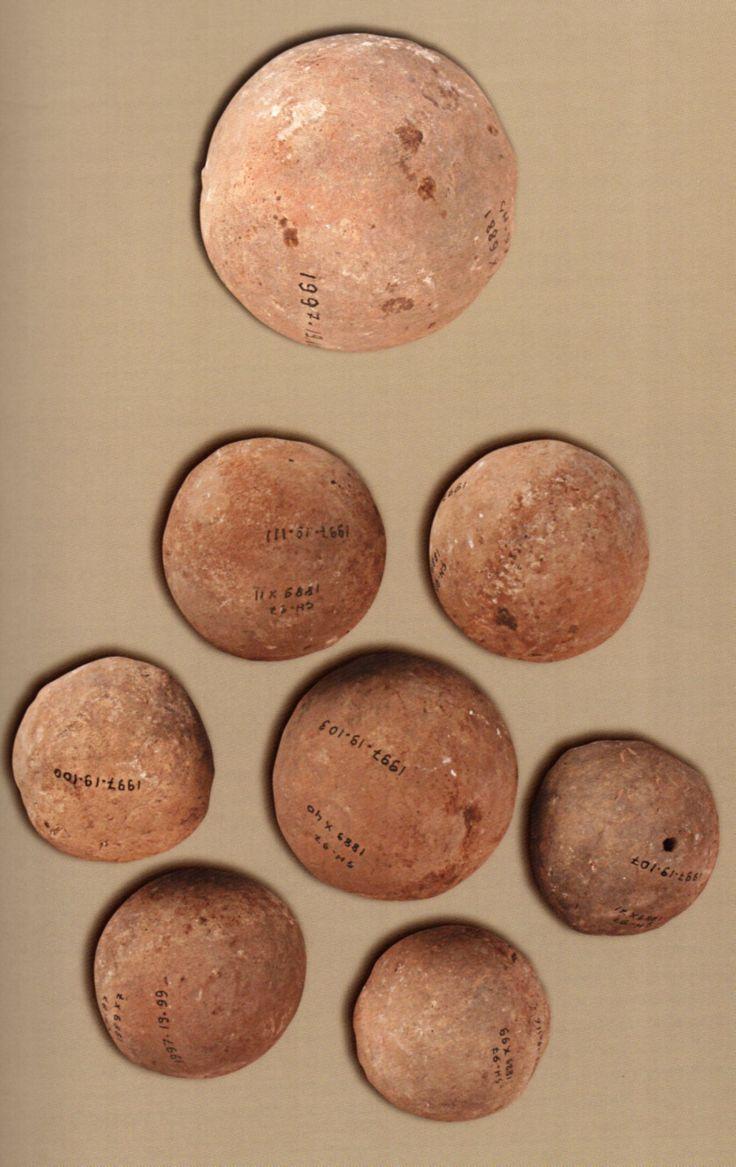 Çatalhöyük, lay balls- seramik toplar (Erdinç Bakla archive)