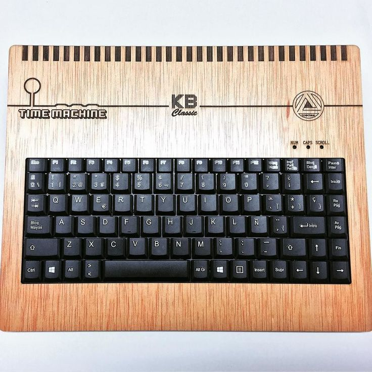 Today we start to sell our #retrocomputer Time Machine KB Classic. Handmade in Spain with okume wood features SD 32gb 49 #emulators more than 400 #homebrew games #raspberrypi 3b #emulationstation #kodi #scratch and #python programing software all ready to use! Make orders at http://ift.tt/2nxcQGK 17900 (save 2000) #retrocomputing #retrogaming #mame #retroconsole #homecomputer #8bit #16bit #neogeo #msx #amstrad #commodore 64 #nintendo #sega #gameboy #playstation #arcade