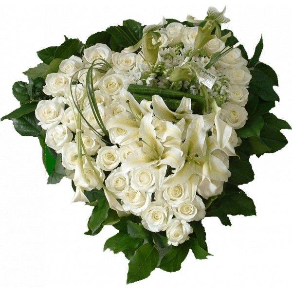 flower arrangements for funerals | ... flower hearth for funeral. Floral arrangement of natural flowers