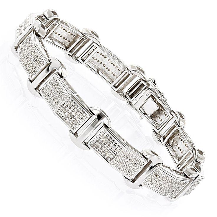 Best 25+ Mens diamond bracelet ideas on Pinterest | Black diamond ...