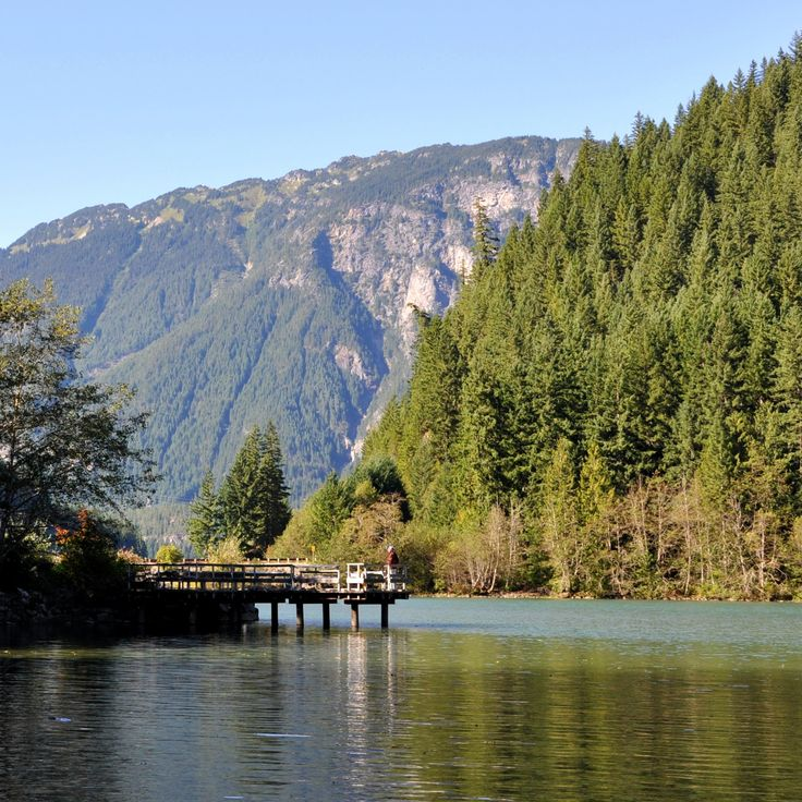 Stay here one day! On the shore of bluish-green Diablo Lake, Colonial Creek Campground features 142 campsites and a multitude of outdoor activities. Open year round, this campground is a great base for your next North Cascades adventure.