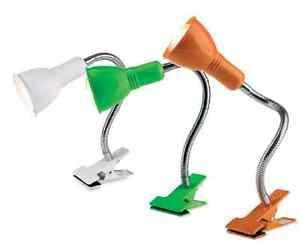 CLIP PINZA LAMPADA da PARETE / SOFFITTO in Metallo Flessibile ORIENTABILE mxp-26 | eBay