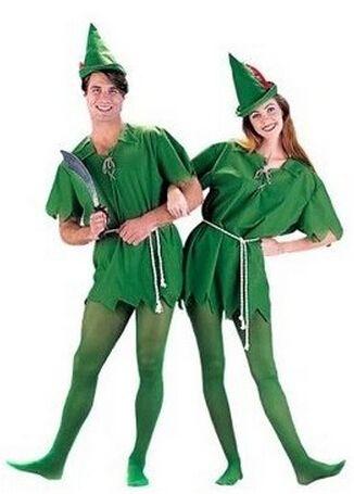 Kostenloser versand Halloween kostüm abendkleid Grün elfen Peter pan rollenspiel kleidung halloween kostüme für männer frauen in       aus Kleidung auf AliExpress.com | Alibaba Group