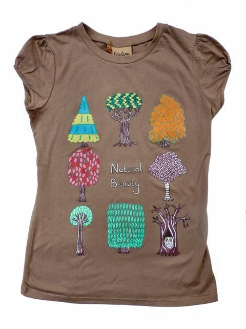 Natural Beauty Trees T shirt (SALE)