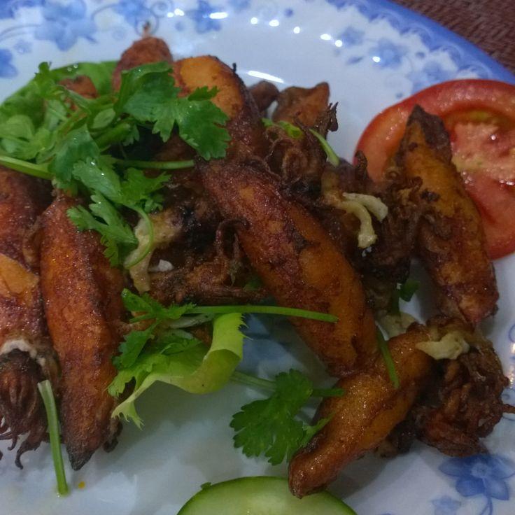 Chicken Wings by the road in Da Nang #foodie #foodporn #streetfood #nomnom