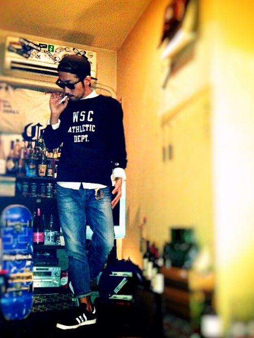 Yusukeさんのキャップ「BRIXTON OATH Ⅲ SNAPBACK」を使ったコーディネート