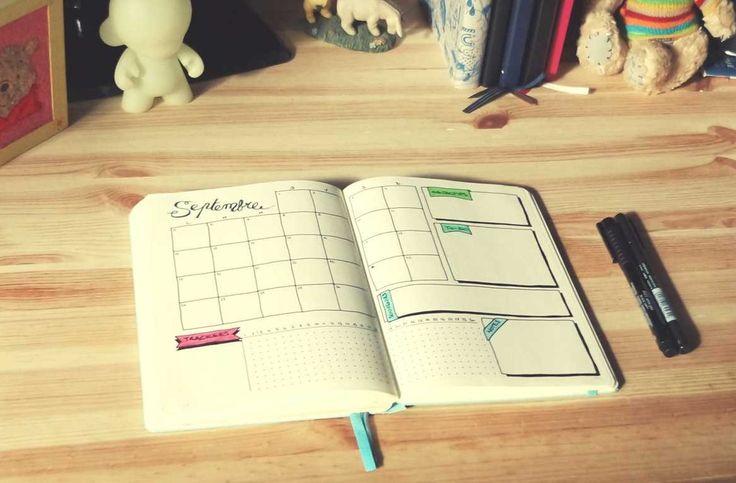10 modèles de pages mensuelles - Journaling Addict en 2020 ...