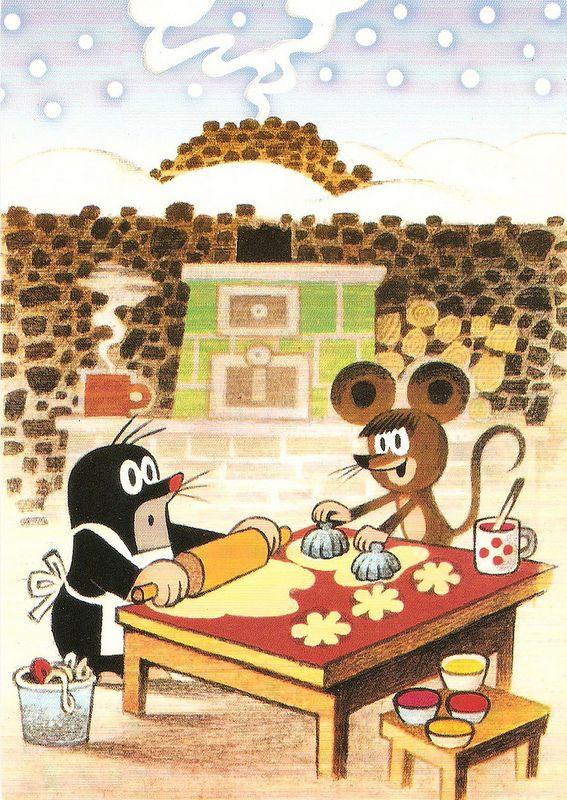 (2014-07) Muldvarpen og musen bager kager