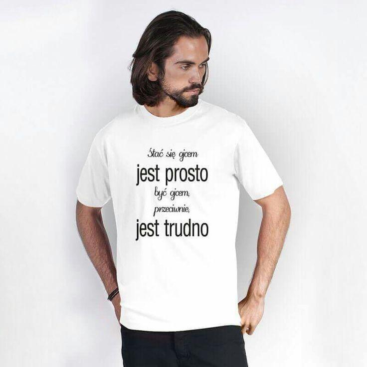 Koszulka dla taty www.reklamowe.co  #tshirt #koszulka #dad #tata #prezent