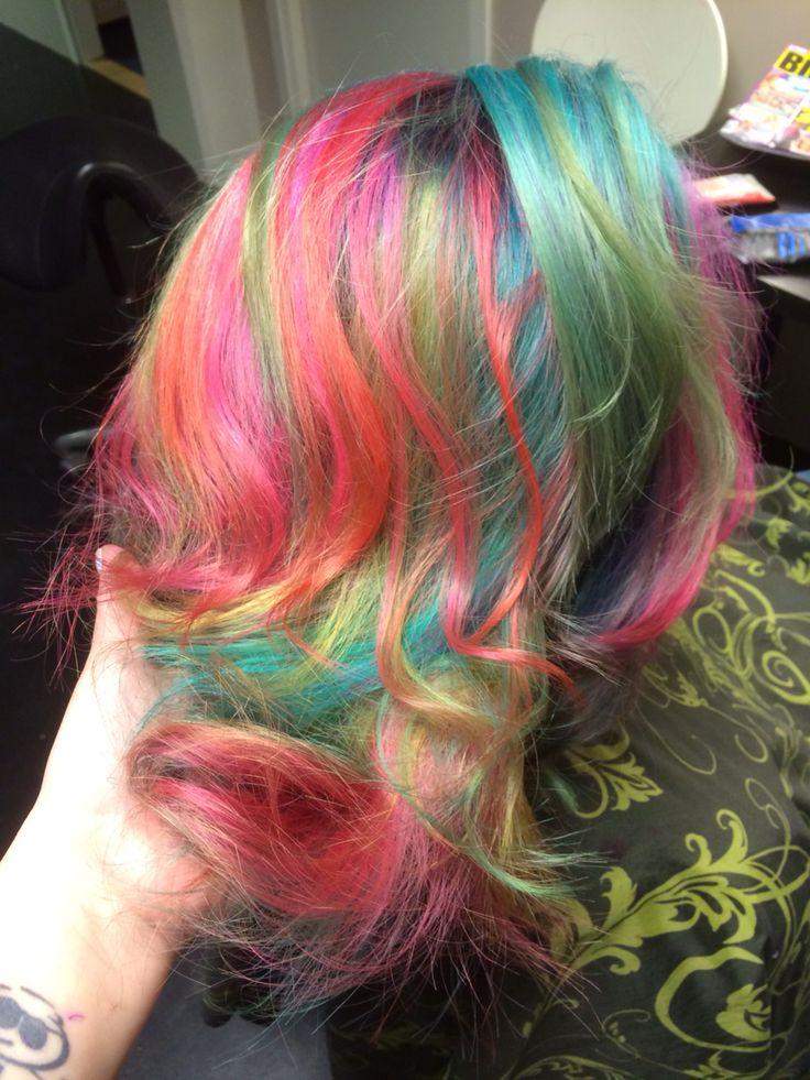 Crazy haircolor