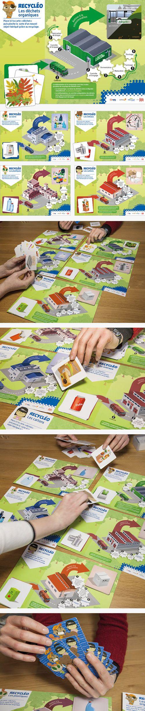 Ville de Lille / Dalkia : jeu pédagogique de sensibilisation au recyclage pour l'école de la forêt de Phalempin © Sous Tous les Angles