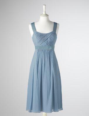 Storm blue dressOutdoor Wedding, Ideas, Summer Dresses, Sleeveless Dresses, Blue Dresses, Storms Blue, Bridesmaid Dresses, Colors, Sun Dresses