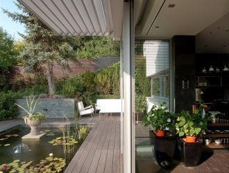 Családi ház, Budapest, #árnyékoló, #textil, #roló, #belsőépítészet