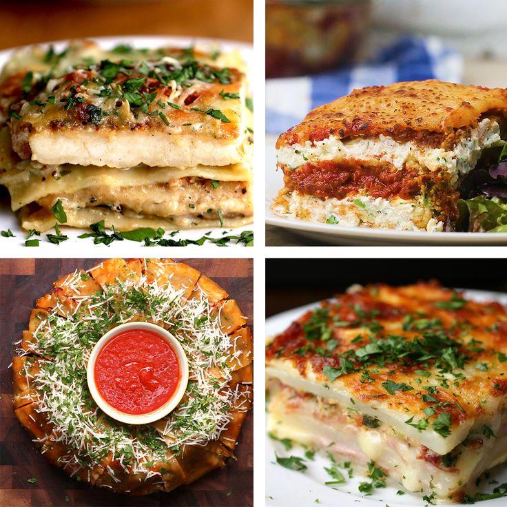8 Epic Lasagnas by Tasty