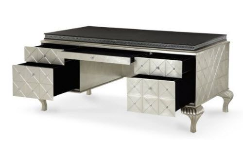 Hollywood Swank Cavier Desk From Michael Amini And Jane