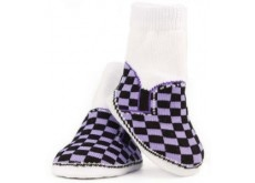 """Dress your little boy in these stylish """"Skater"""" Trumpette socks!"""