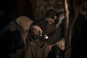 But a certain Samaritan, as he journeyed, came where he was: and when he saw him, he had compassion on him.