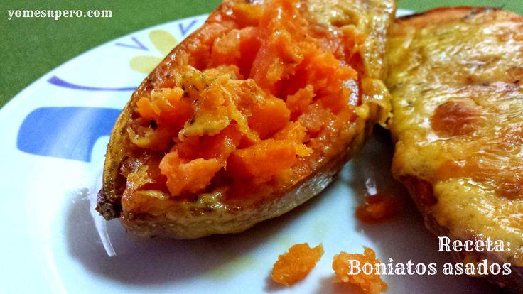 Receta: Boniatos asados (Vegetariana)