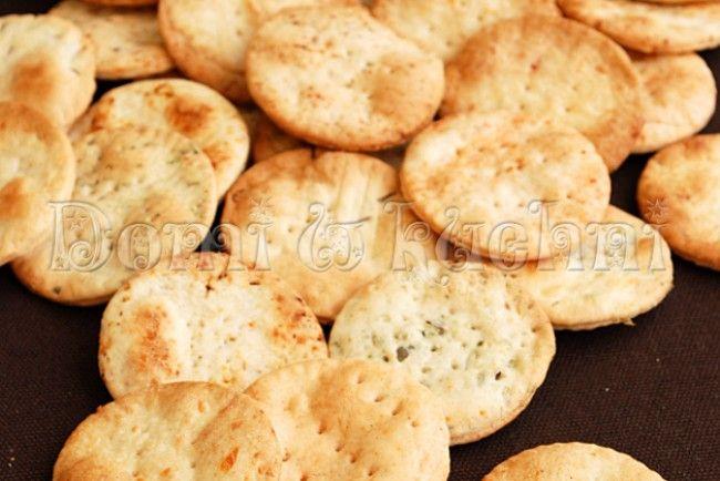 Domowe krakersy | Domi w kuchni