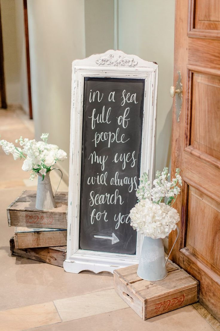 Romantic Modern-Vintage Wedding Reception Decor