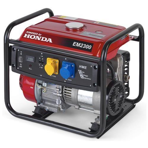 Honda EM2300 2.3kW Petrol Generator with AVR