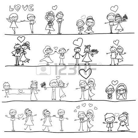 Historia De Amor Boda Animacion De Dibujos Animados Software