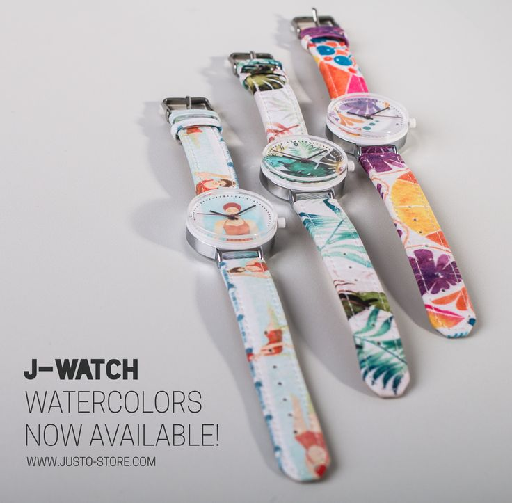 J-WATCH Watercolor available now! :)