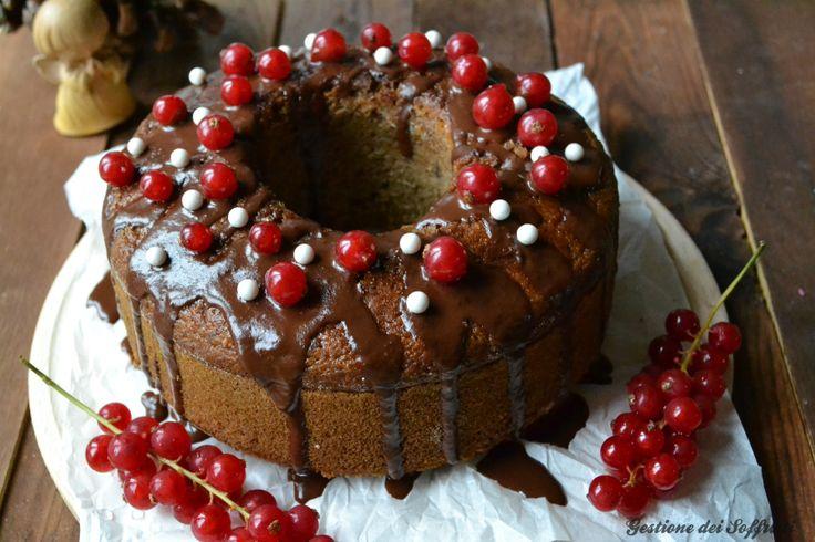 Torta speziata di Natale #vegan #vegano #dolci #healthyfood