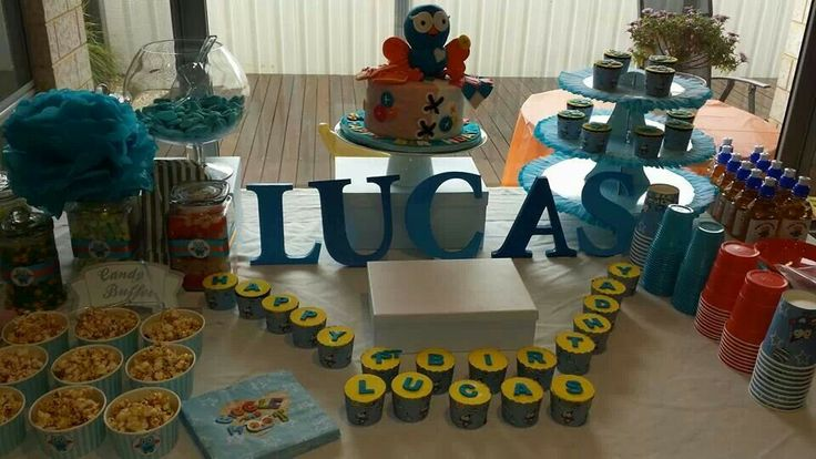 Giggle and hoot birthday idea :) My little one loved :)