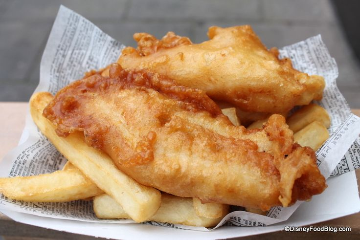 Fish and Chips from Yorkshire County Fish Shop