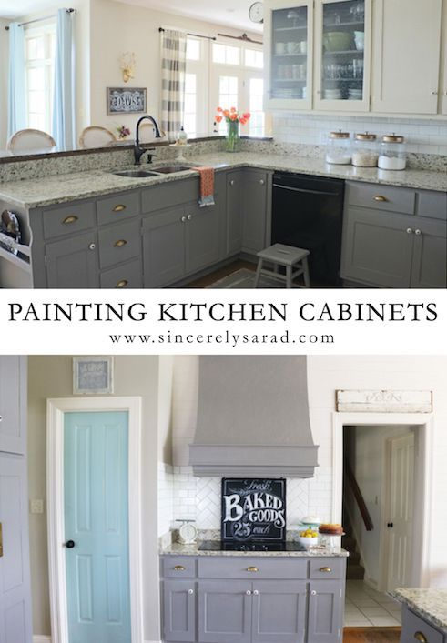 Painting Kitchen Cabinets Ideas Delectable Inspiration
