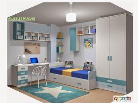 Hoy os hablamos de nuestras fotografías y dibujos 3D.      Son proyectos de Dormitorios Juveniles 3D  hechos a medida para cada cli...