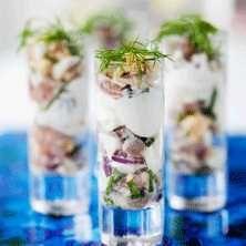 Snyggt enkelt och gott! Imponera med en smakrik förrätt eller servera på buffébordet.