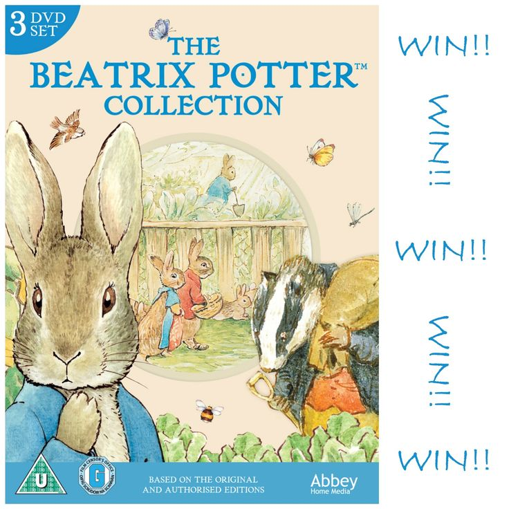 WIN The Beatrix Potter Collection DVD Box Set