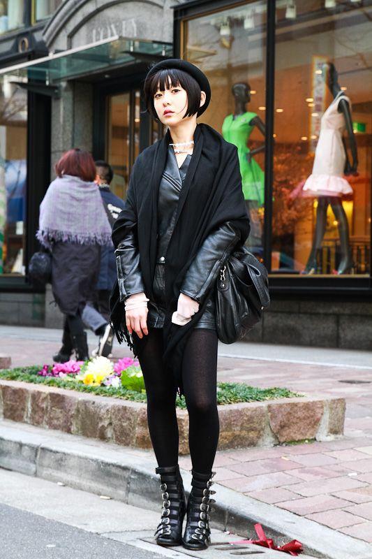 Japanese Street Style St Pinterest