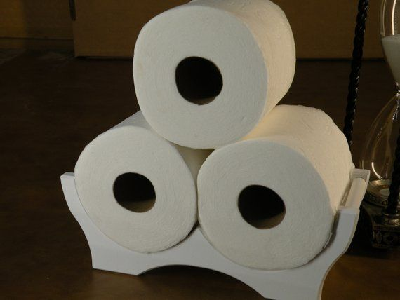 Crown Toilet Tissue Holder For Large Rolls Toilet Paper Storage