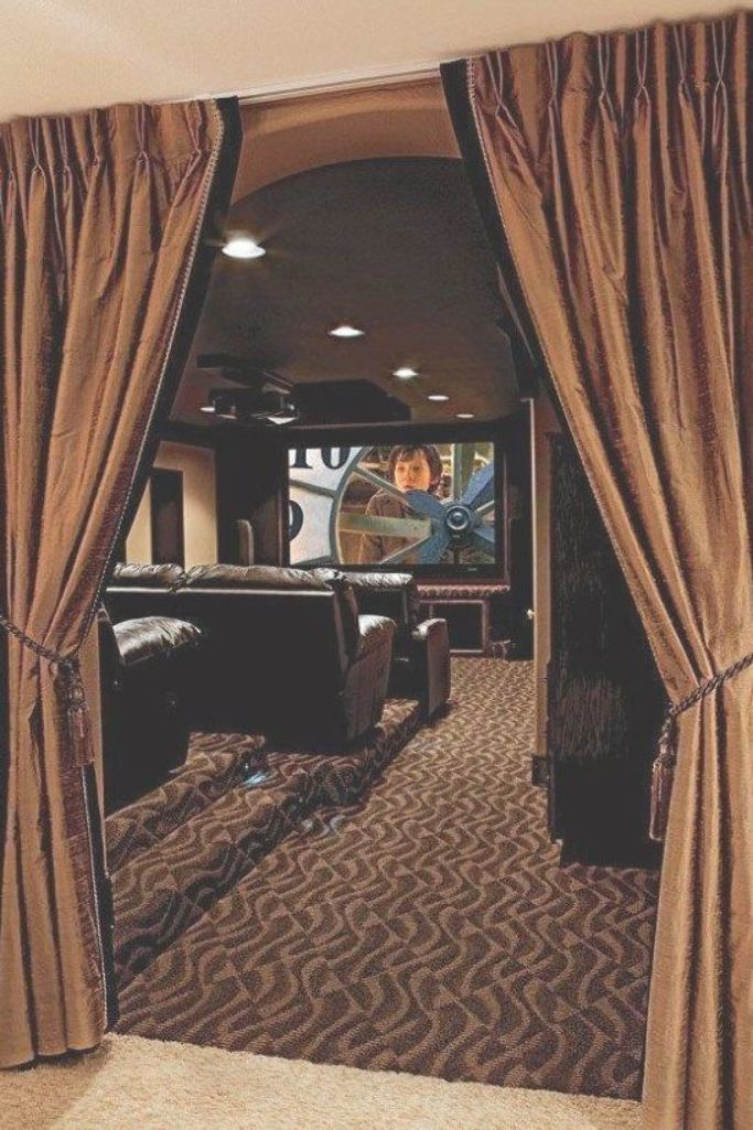 Basement Home Theater Design Ideas To Enjoy Your Movie Time With