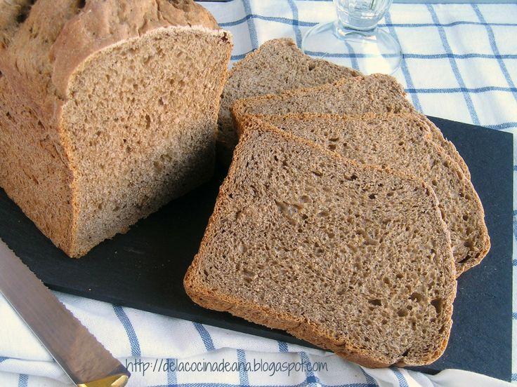 Pan de molde, tipo Pumpernickel en Panificadora