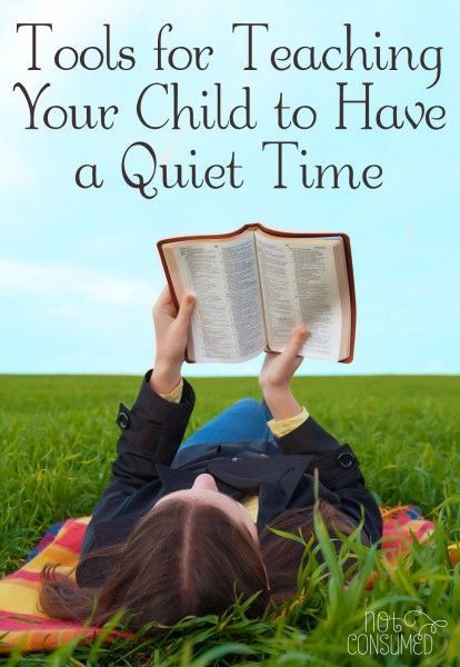 Are there tools that will help your child learn to love spending quiet time with the Lord? Of course! And they are closer than you think...