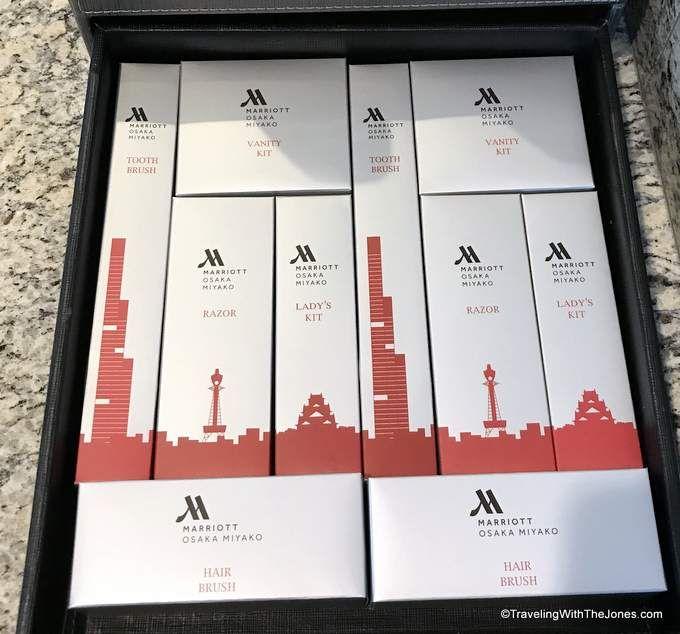 amenities - Marriott Osaka Miyako hotel