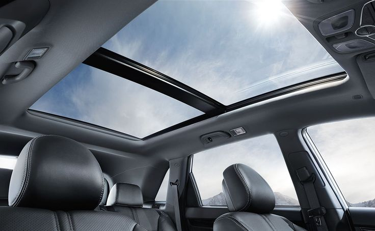 2015 Kia Sorento Crossover SUV - The available panoramic sunroof lets you enjoy fresh air and a feeling of spaciousness. It also includes an easy-to-use power sunshade.
