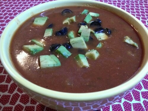 """Tortilla Soup: Another awesome recipe from """"Fresh from the Vegetarian ..."""