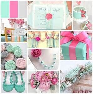 mint, grey and pink ❤