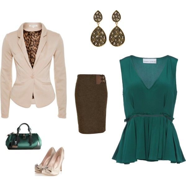 Job interview attire by emily-imig on