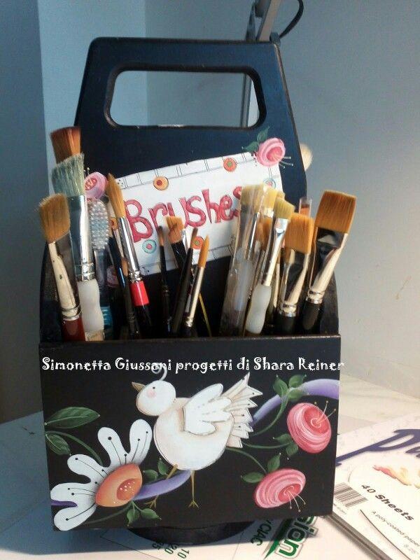 Shara Reiner Brush Box - Side 3